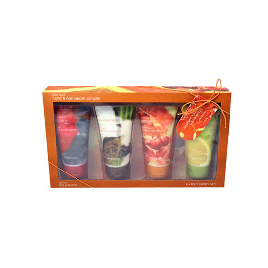 Solace Fruit Selection Hand & Nail Sampler Pack, $10.99