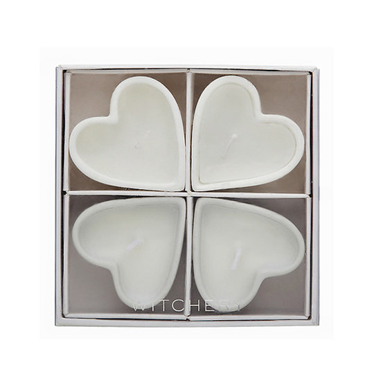 Witchery Quad Heart Candle, $9.95