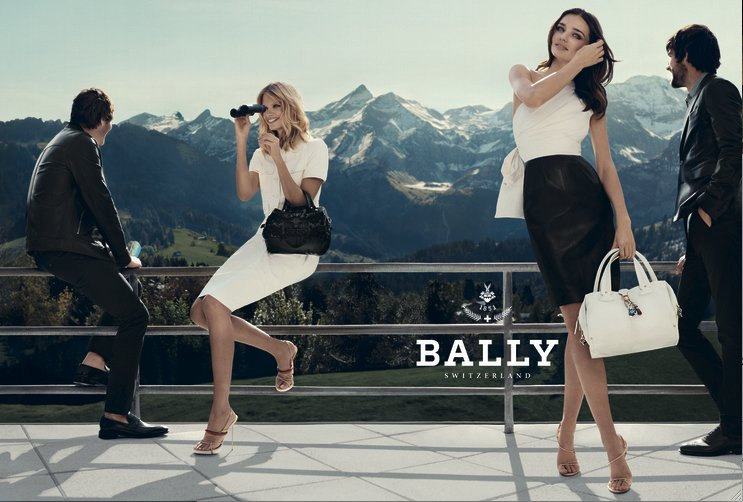 Bally Spring 2012 Ad Campaign