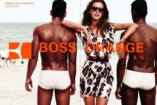 Hugo Boss Orange Spring 2012 Ad Campaign