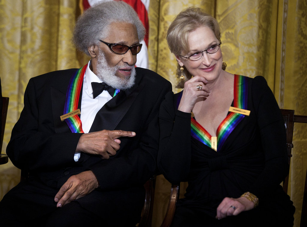 Meryl Streep took the stage at the 2011 Kennedy Center Honors.