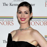 Anne Hathaway Engagement Ring at Kennedy Center Honors
