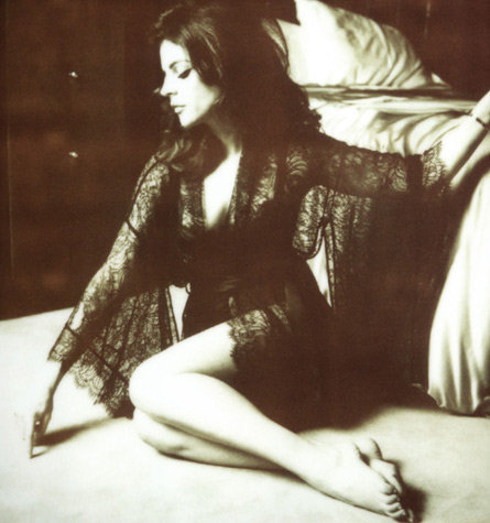 So Sexy! Julia Restoin Roitfeld Designs Capsule Collection for French Lingerie Label Kiki de Montparnasse: See Her Model It!