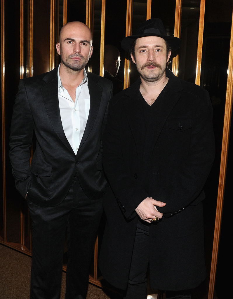 Ermin Sijamija and Nikola Djuricko at the afterparty for In the Land of Blood and Honey.