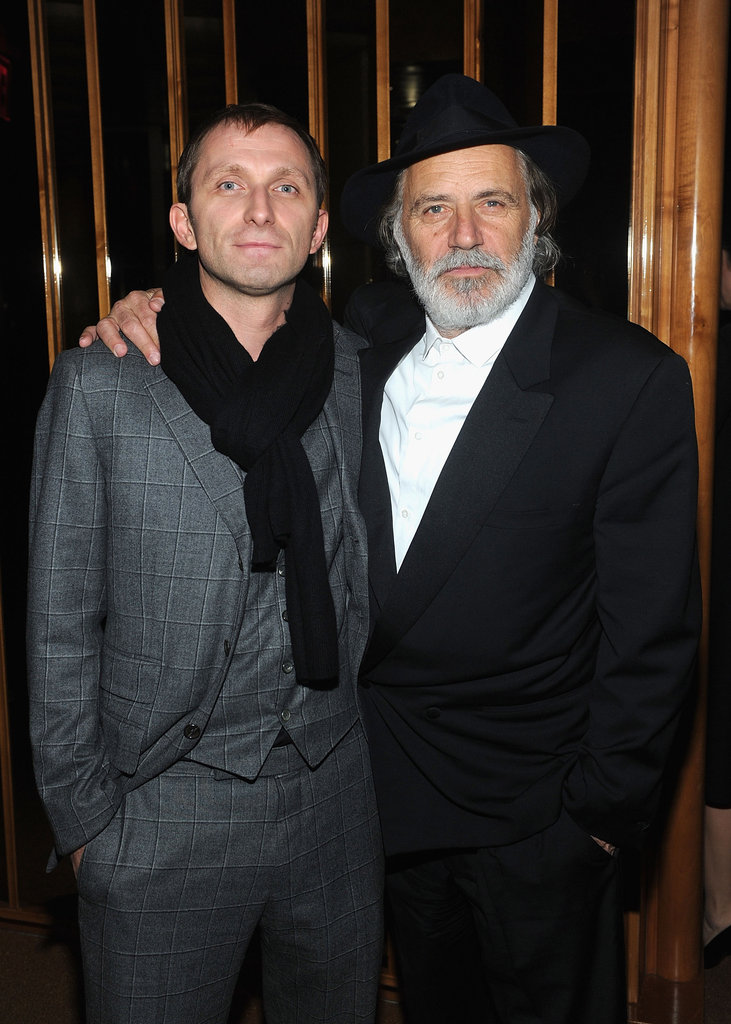 Goran Kostic and Rade Serbedzija attended the afterparty for In the Land of Blood and Honey.