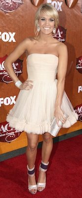 Carrie Underwood's Dress at American Country Awards