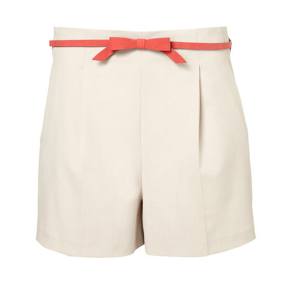 Bow Belted Shorts