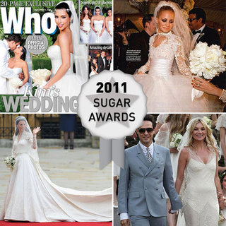 Which Celebrity Bride Had the Most Stylish Wedding Dress in 2011: Kate Moss, Kate Middleton, Lily Allen or Kim Kardashian?