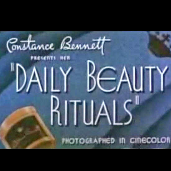 Vintage Makeup and Skin Care Video