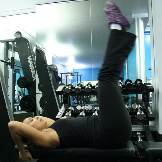 Ab Exercises on a Weight Bench