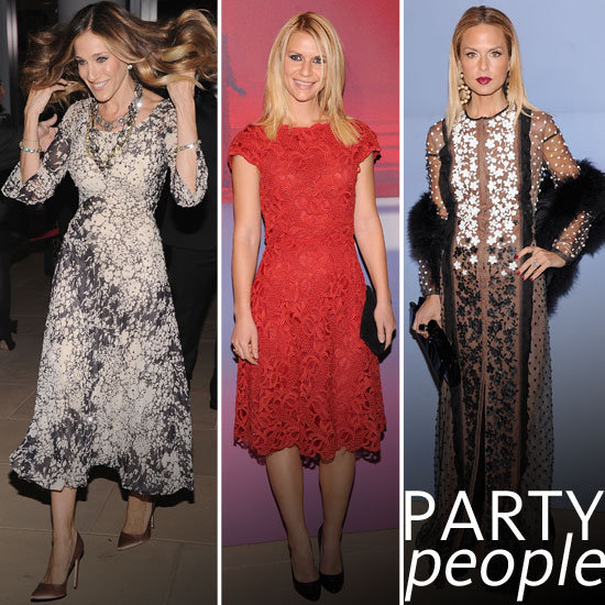 Pictures of Celebrities at the Valentino Garavani Virtual Museum Party: Rachel Zoe, Sarah Jessica Parker, Claire Danes & more!