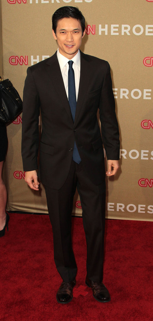 Harry Shum Jr. made his way into the CNN Heroes: All-Star Tribute event.
