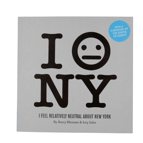 I Feel Relatively Neutral About New York Book