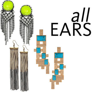 Five of the Best Statement Earrings to Buy Online for the Party Season: Witchery, ASOS, Noir Jewelry and Shourouk