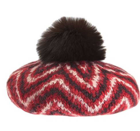 """My mom is a total hat lady (I'm pretty sure that's where I got it from), and this chunky knit beret is sure to keep her cute and warm during the East Coast Winter."" — Brittney Stephens, assistant editor  Eugenia Kim Kerry Pom Pom Beret ($225)"