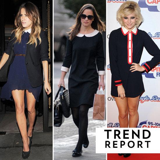 Trendspotting: Collar Dresses are Still Super Stylish
