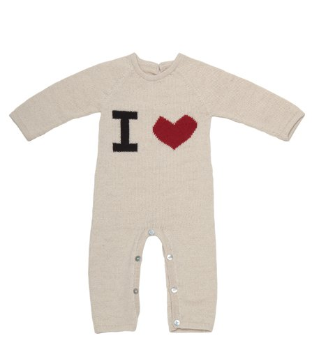 """Full disclosure: I just had my first baby. This alpaca jumper is ridiculously cute and super cozy. Since two of my good friends have had their first babies recently, I may forgo presents for them in favor of presents for the little ones!"" — Noria Morales, editor  I Heart Jumper ($88)"