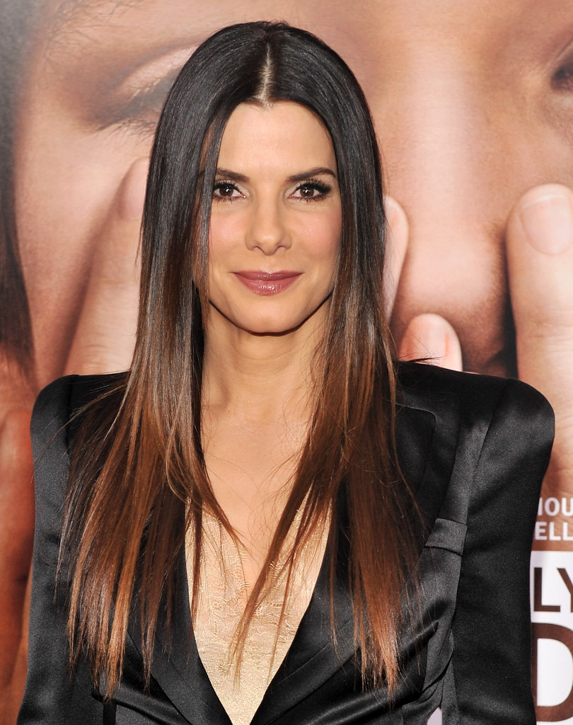 Sandra Bullock rocked a plunging neckline at the NYC premiere of Extremely Loud and Incredibly Close.