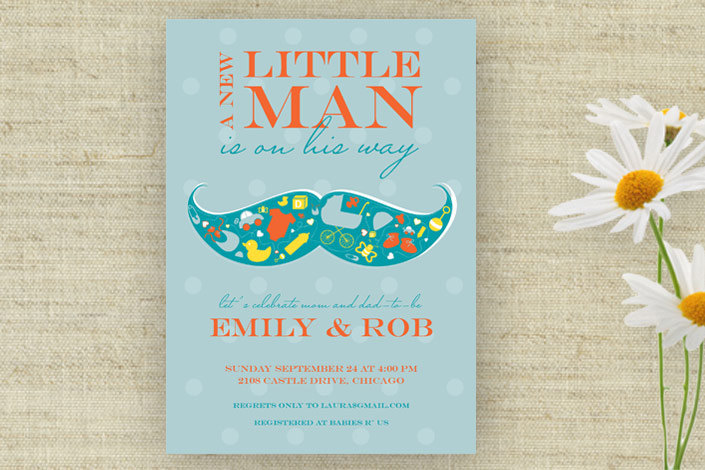 printable little man mustache baby shower invitation 15 shower
