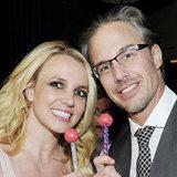 Britney Spears Celebrating Her Engagement in Las Vegas