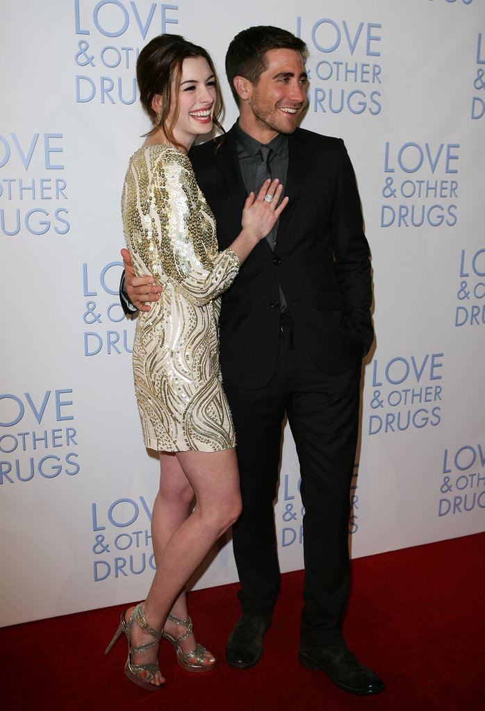 He and his Love and Other Drugs costar Anne Hathaway posed together in Sydney, Australia, in December 2010.
