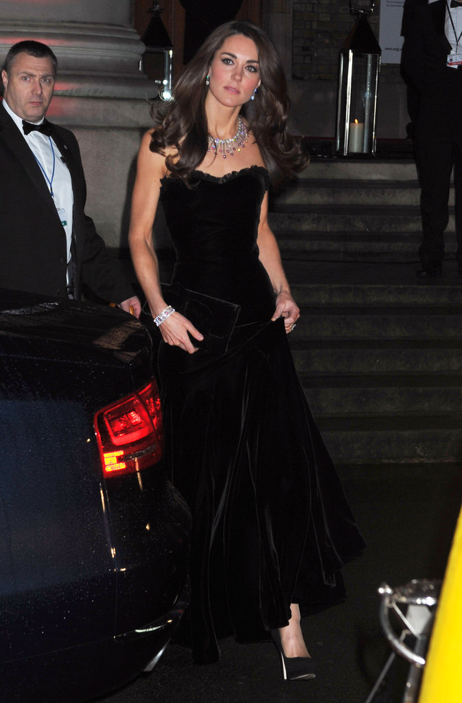 Prince William and Kate Middleton Have a Stunning Night Out at the Sun Military Awards