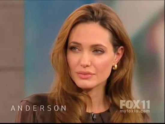 Video: Angelina Jolie Talks Kids on Anderson