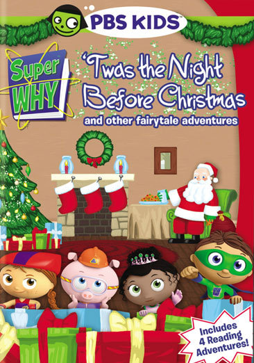 Pbs super why 39 twas the night before christmas and more for Why christmas is the best holiday