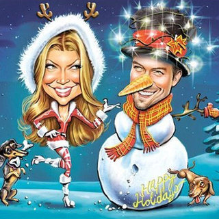Celebrity Christmas Cards 2011