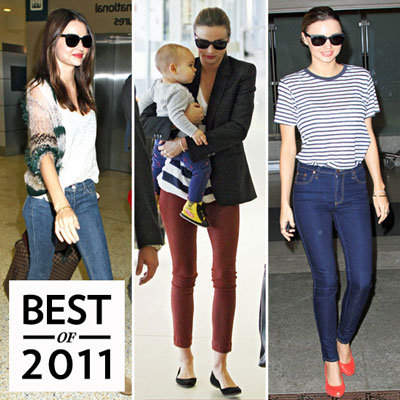 Miranda Kerr Best Airport Style 2011