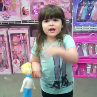 Little Girl Talks About Gender Stereotypes of Toys