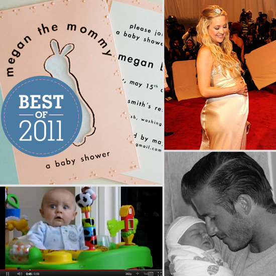 Best of 2011: Our Favorite Maternity Styles, Celebrity Babies, Trends, Baby Showers, Party Themes, and More!