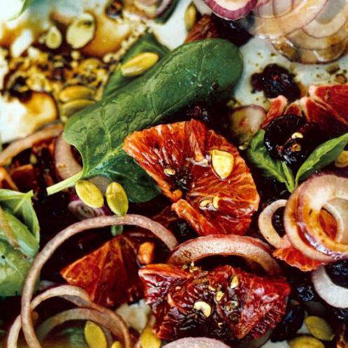 Basil and Blood Orange Salad Recipe
