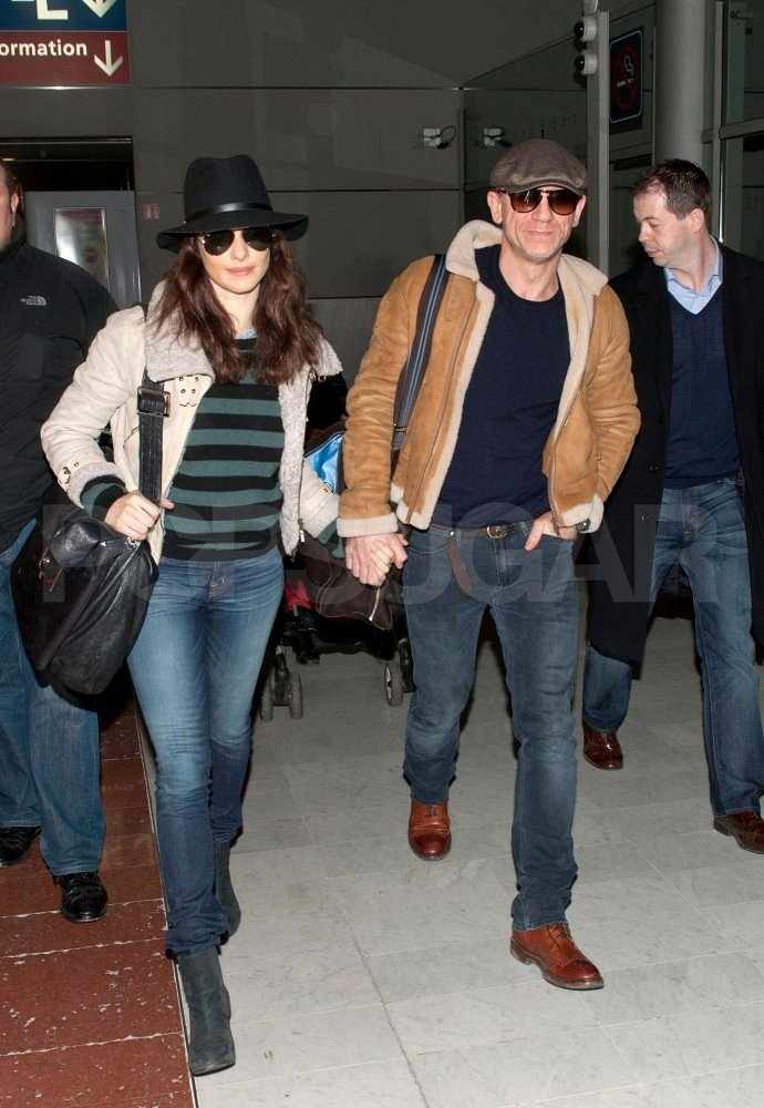 Rachel Weisz and Daniel Craig were loved up in Paris.