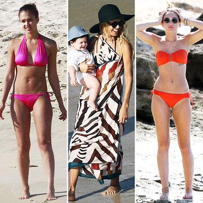 Celebrities in Bikinis 2011