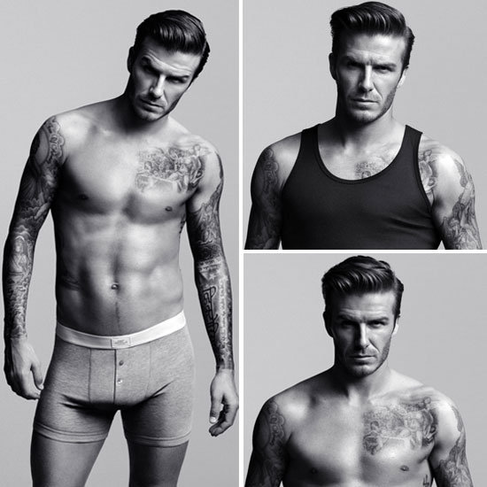 David Beckham Poses For His H&M Underwear Line — See the Sexy Ads and Complete Collection!