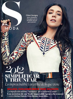 See Chloë Sevigny With Dark Hair in S Moda Magazine's December Issue