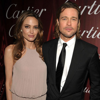 Brad Pitt and Angelina Jolie Red Carpet Pictures at 2012 Palm Springs Film Festival