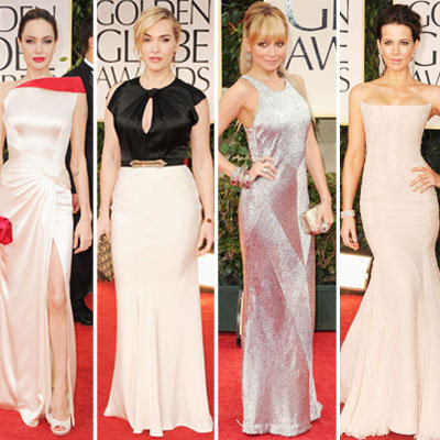 Golden Globes 2012 - Red Carpet Dress Pictures