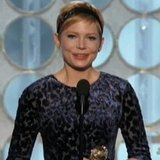 Michelle Williams 2012 Golden Globes Speech Video on Daughter Matilda