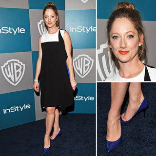 Judy Greer at Golden Globes InStyle Afterparty 2012