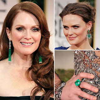 Emerald Jewels Ruled The 2012 Golden Globes Red Carpet