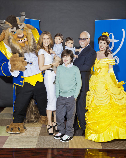 Celine Dion Brings Twins Nelson and Eddy Out to a Special Screening