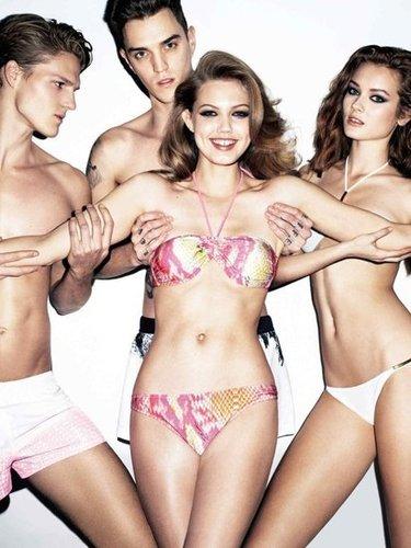 Just Cavalli Spring 2012 Ad Campaign