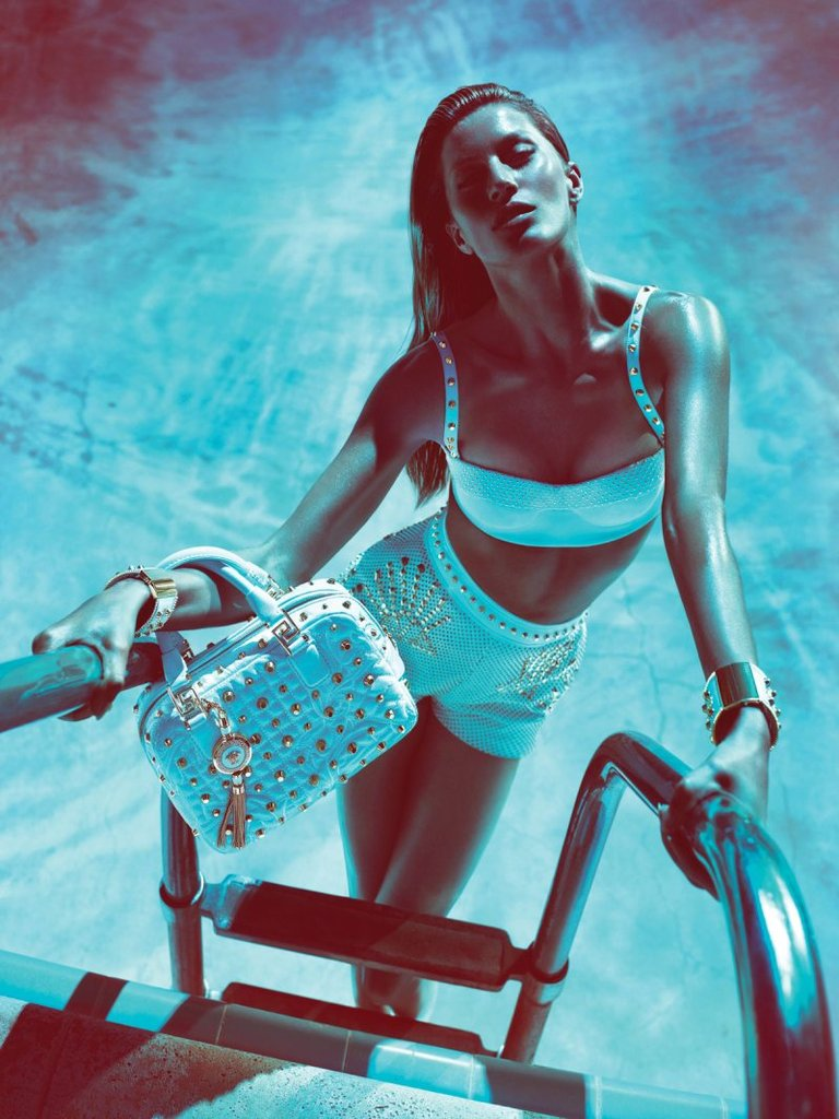 Versace Spring 2012 Ad Campaign