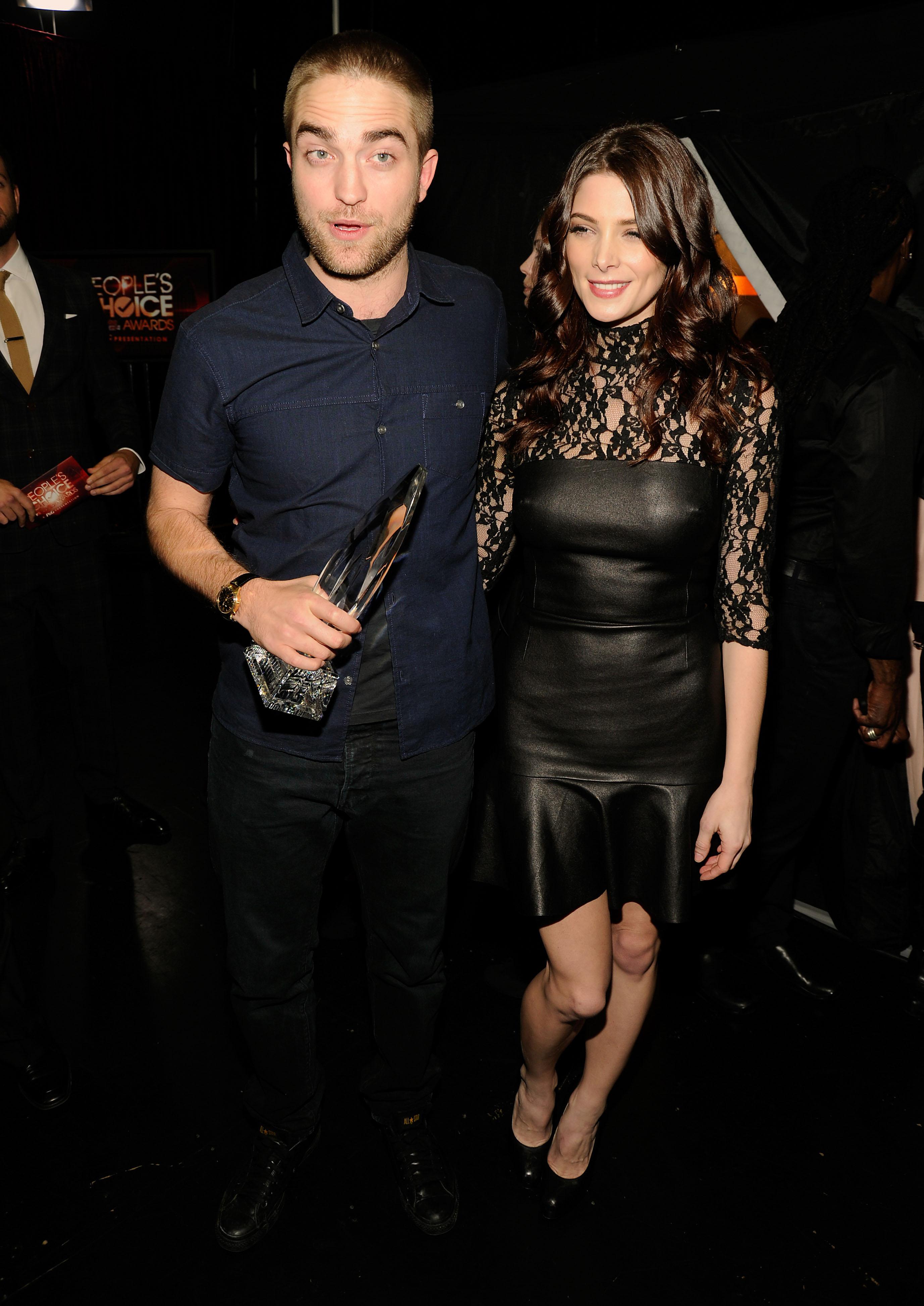 Robert Pattinson and Ashley Greene