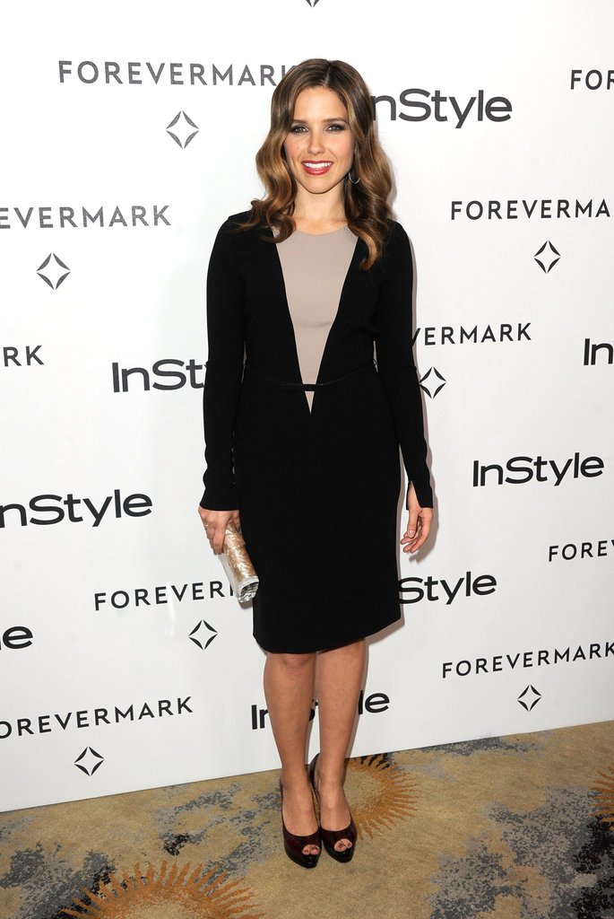 Sophia Bush was in LA for a Golden Globe Awards event.