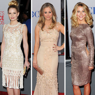 People's Choice Awards 2012 Red Carpet Dresses Pictures
