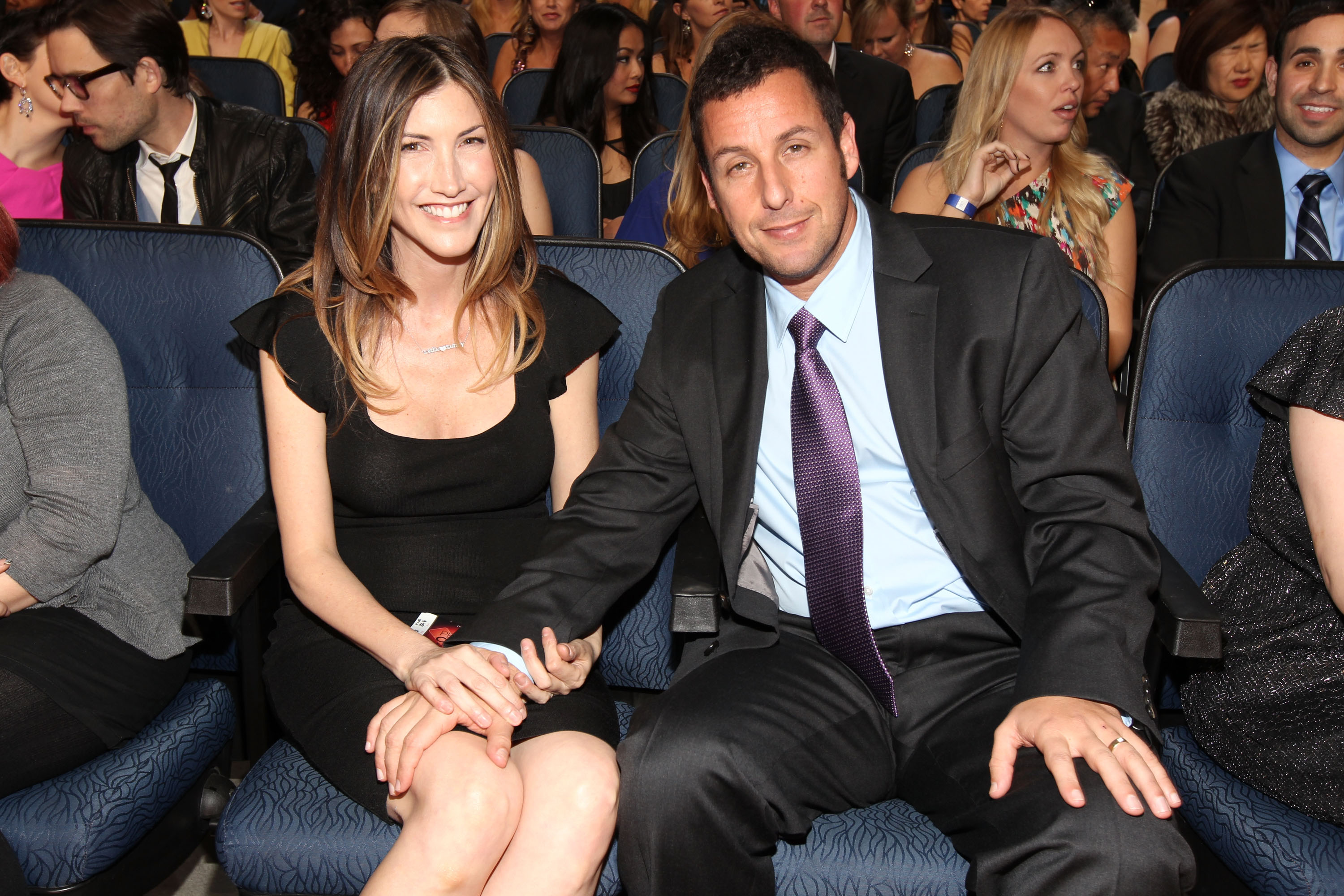 Adam Sandler and Jacki...