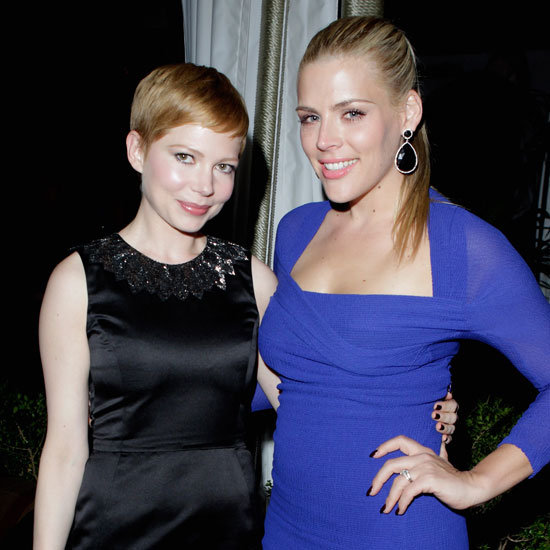 Michelle Williams, Bradley Cooper, Busy Philipps Pre-Golden Globe 2012 Party Pictures
